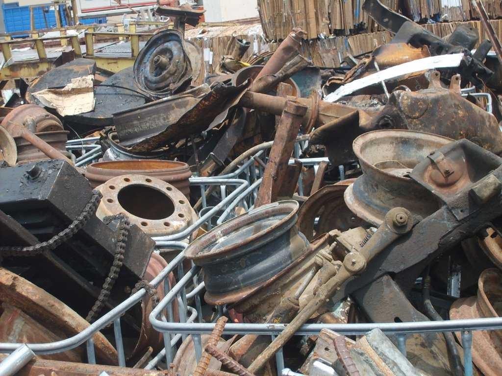 Сбор и переработка лома черных металлов
